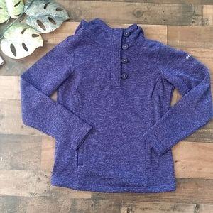 Columbia Purple Pullover Sweater